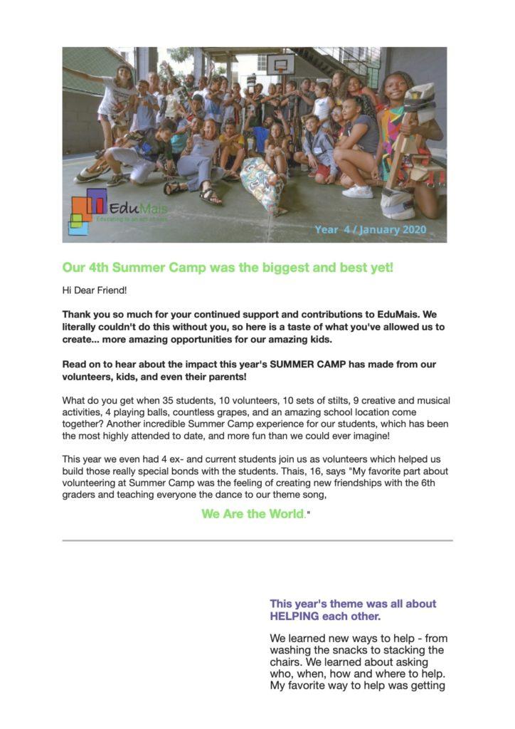 Newsletter-Year-4-Summer-Camp-2020