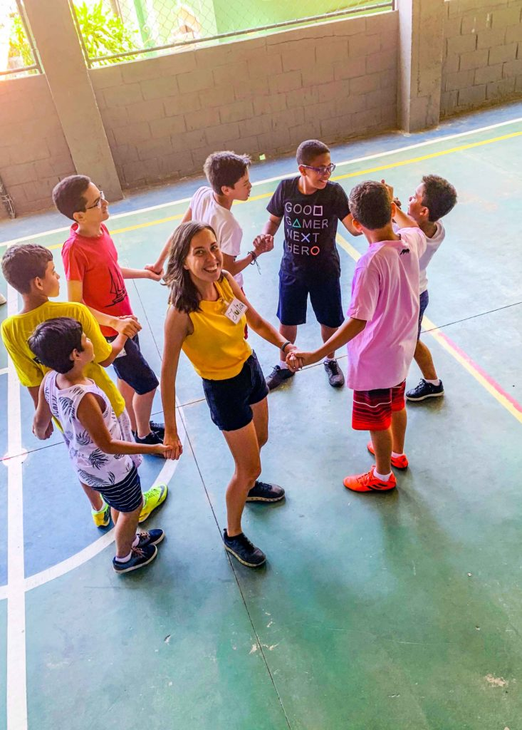 Responsible citizens in favelas in Rio de Janeiro